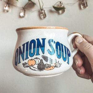 Vintage Onion Soup mug
